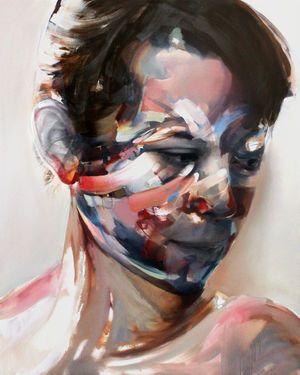 "Saatchi Art Artist Daniel Martin; Painting, ""Anna - SOLD"" #art"