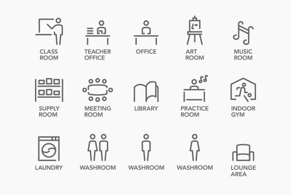 NCPA Signage Design by box brand design, via Behance