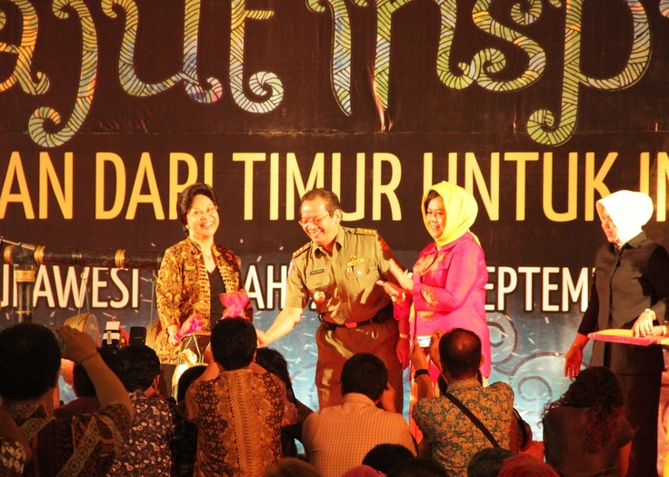 Minister for Health and Governor of Central Sulawesi open the 6th Eastern Indonesia Forum