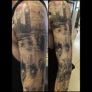 best 25 london tattoo ideas on pinterest london skyline tattoo city tattoo and cup of tea tattoo. Black Bedroom Furniture Sets. Home Design Ideas