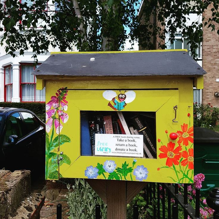 Book house. Spotted along the road.