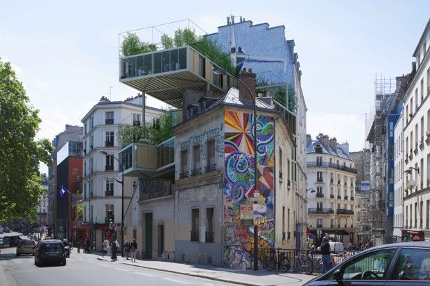 Rooftop 'Parasite' Homes Could be the Future of Affordable Housing in Paris