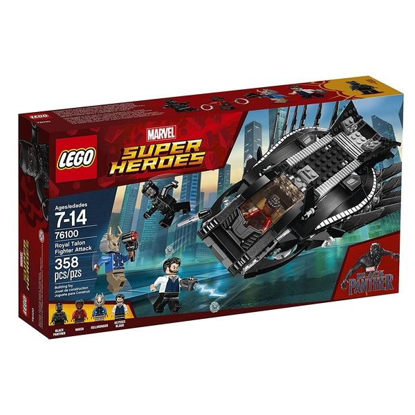 Two LEGO Marvel Black Panther Sets Revealed