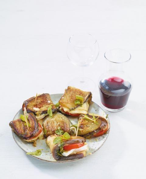 Auberginen-Snack - [ESSEN UND TRINKEN]