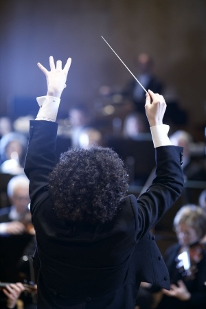 Gustavo Dudamel performing with the Gothenburg Symphony