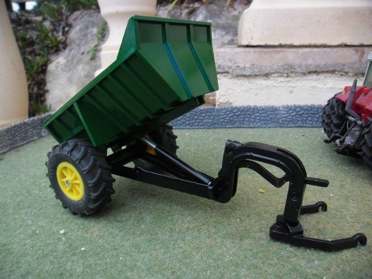 Britains Farm SPECIAL Rear Dump Trailer (Green)   eBay