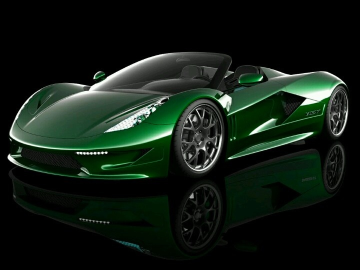 Best Green Cars Images On Pinterest Green Cars Cars And - Green cool cars