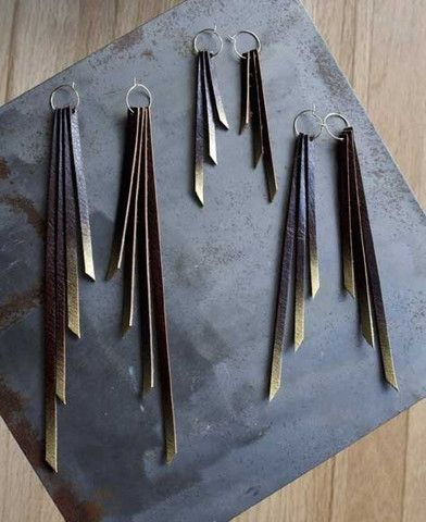 awesome leather jewelry by daly bird...