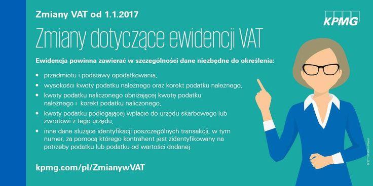 Zmiany w VAT →  | Od 1 stycznia 2017 r. wprowadzono wiele istotnych zmian w ustawie o VAT.