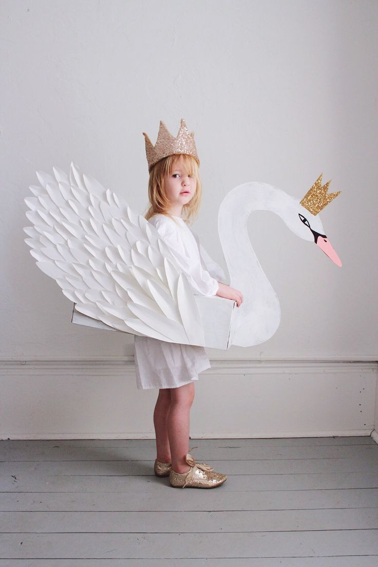 We've wanted to make a swan costume for Miss M ever since we put together this little Valentine tissue box swan.... Read more »