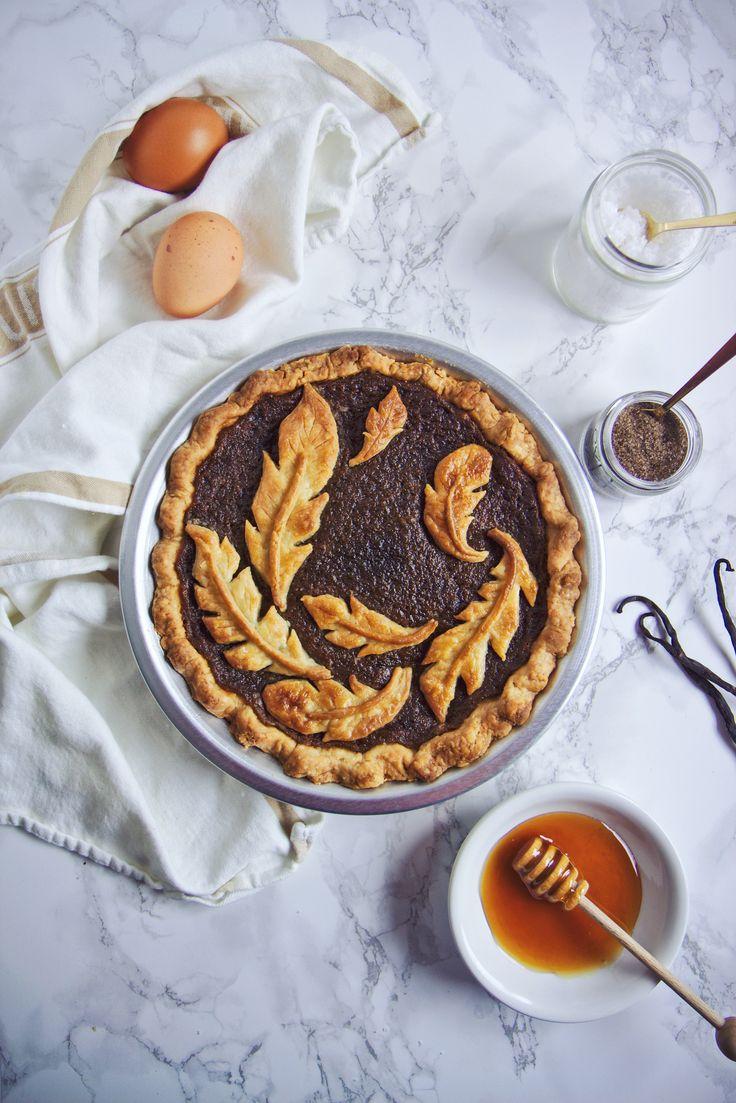 Brown Butter Smoked Salty Honey Pie   La Pêche Fraîche