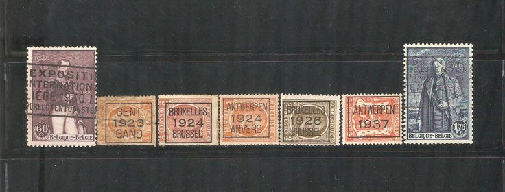 Old Stamps From Belgium