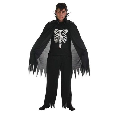 Disfraz Vampiro Negro Adulto