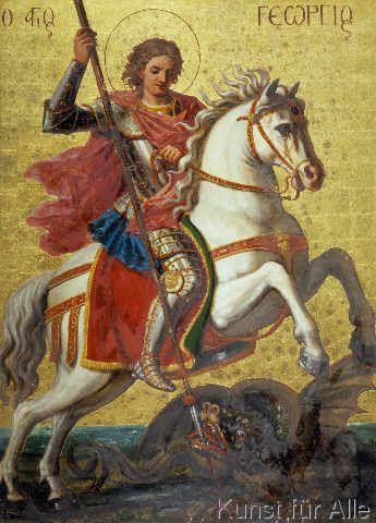 16. Jahrhundert - Der Heilige Georg