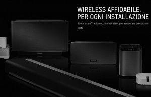 Sonos, sistema musicale wireless per la casa ancora più semplice