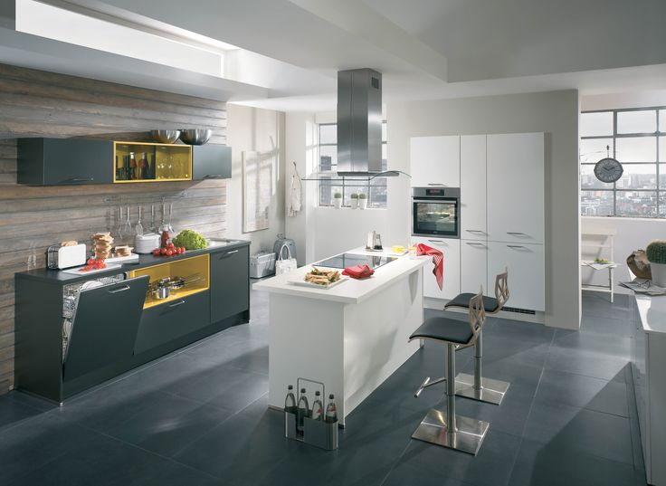 17 best Kitchens by Nobilia - Line N Handleless images on