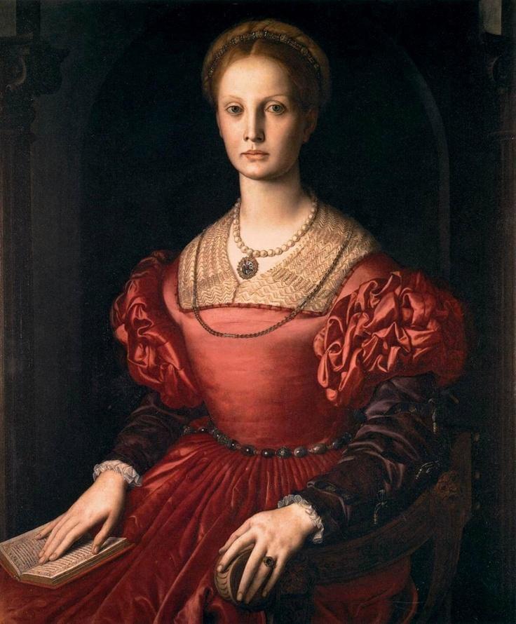 Agnolo di Cosimo, il Bronzino  Ritratto di Lucrezia Panciatichi, c. 1540  in the Uffizi