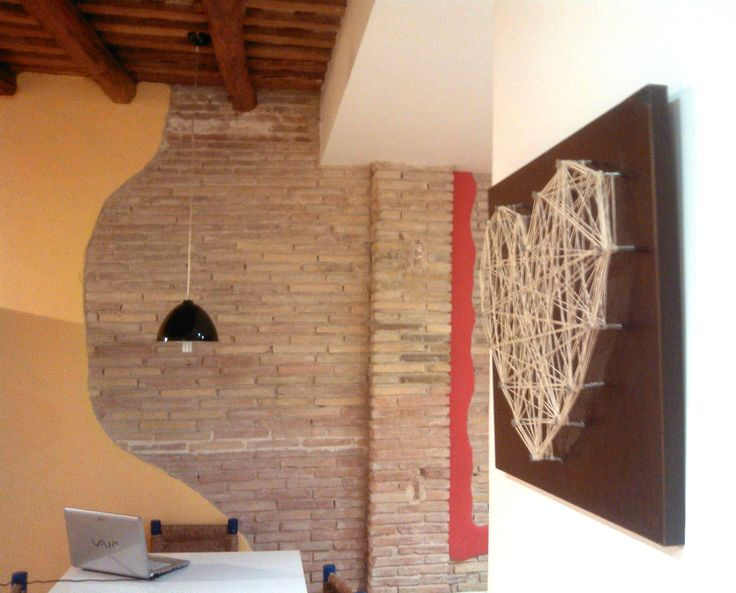 Ideas para hacer cuadros diy con madera clavos e hilo - Hacer decoracion para casa ...