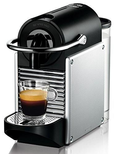 Oferta: 119€ Dto: -20%. Comprar Ofertas de Nespresso Pixie EN 125S, cafetera de cápsulas, 19 bares, DeLonghi, apagado automático, ergonómica, inteligente, color platead barato. ¡Mira las ofertas!