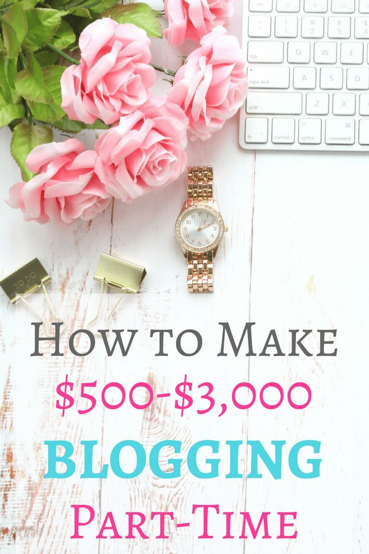 Start a blog on Bluehost! Here's exactly how you can make thousands of dollars per month blogging part time! #startblogging #startablog #workfromhome