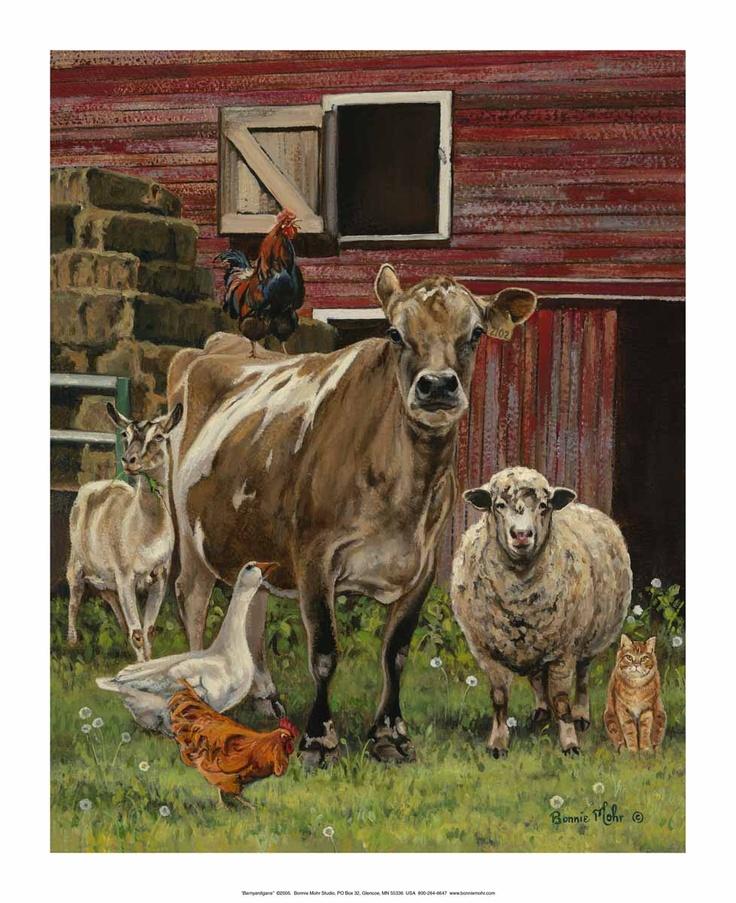Barnyardigans By Bonnie Mohr   Art Print Framed U0026 Unframed At Www.