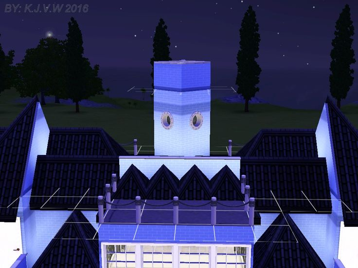 https://flic.kr/p/Js3N17 | The Blue Émeraude 5 | Screenshot Outside  Named after It's ''Emerald Blue'' Look. (In French, so it's sounds a bit artistic) This museum is greatly inspired by an Dutch Expressions Style called ''Amsterdamse School'' which was quite popular in the early 20th century in the Netherlands. There isn't anything yet on show, but there is plenty of room for that.  (Links are coming soon!)