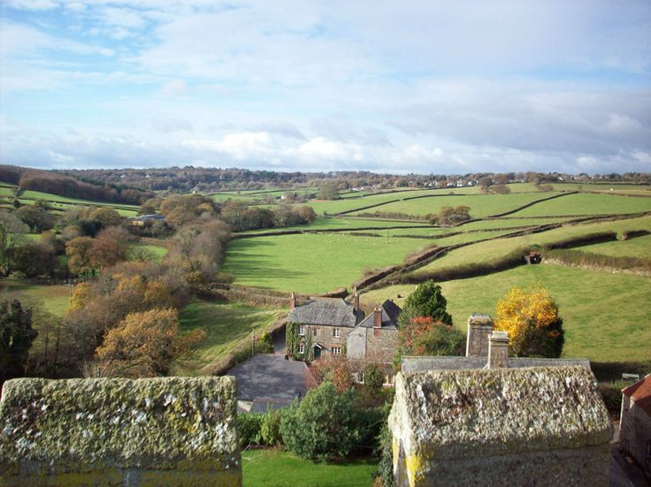From the church tower  St Peter's Meavy Yelverton Dartmoor  http://www.meavy.org.uk/  http://www.westdartmoorbenefice.co.uk/wdmc/wp-content/uploads/2013/10/Meavy-Church-Guide.pdf