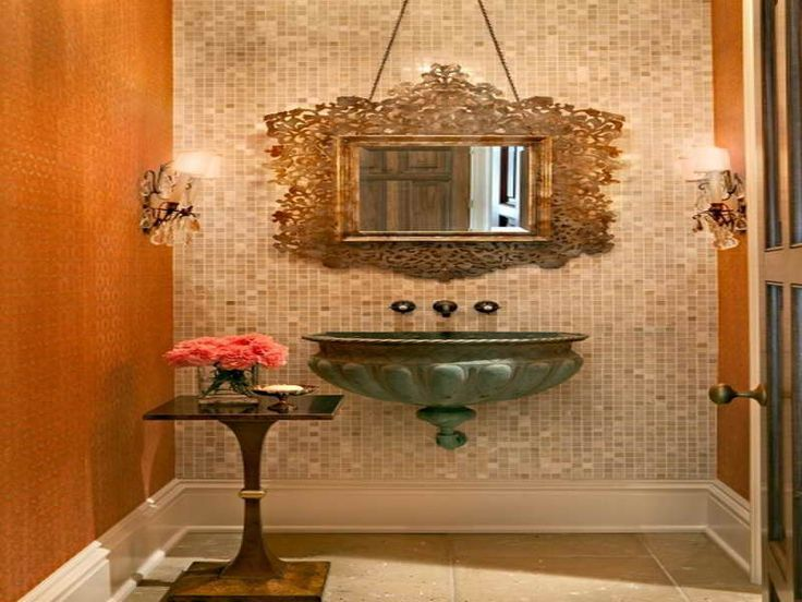 19 best powder bathroom ideas images on pinterest