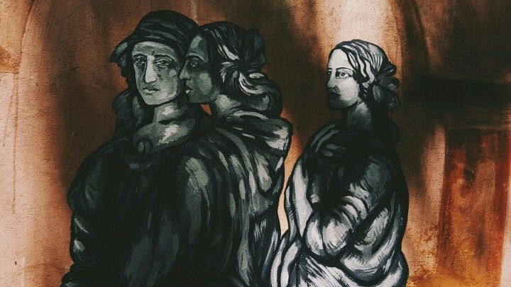 Johnny Allison art drawing doodle painting woman women paint