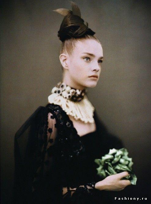 Современное барокко / прически эпохи барокко