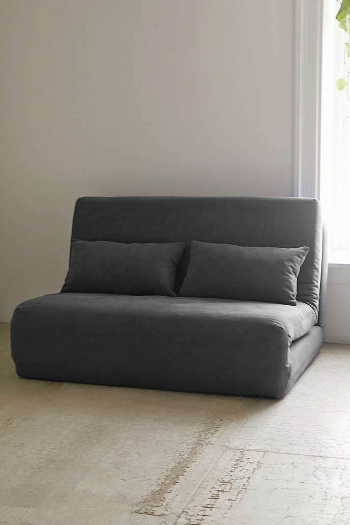 Folding Sleeper Loveseat - Urban Outfitters  For the guest bedroom