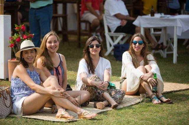 Sofía Vargas, Miranda Carrical, Lorena Vargas y Victoria Carrical