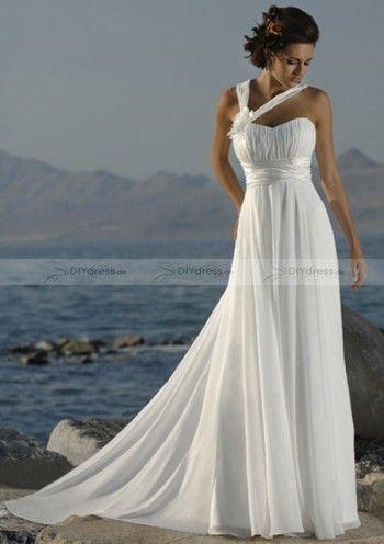 Einfach gut Brautkleider, Strand Hochzeitskleider Simple Wedding Dress, Bride Dresses