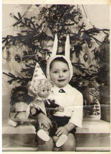В 1974 году самым распространенным костюмом для мальчиков был «Зайка».