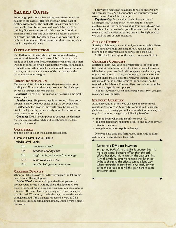 409 best D&D 5E Homebrew Classes and Races images on Pinterest   Dnd classes, Archetypes and ...