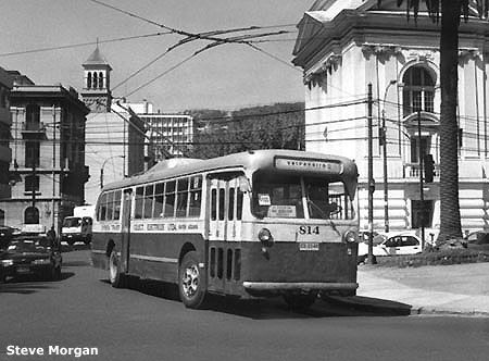 TROLLEYBUSES IN CHILE