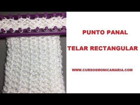 "Punto ""TEJIDO"" Tunecino (Crochet Tunecino) - YouTube"