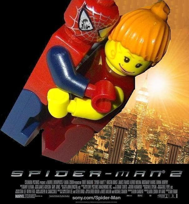 114 best images about lego movie posters on pinterest - Lego spiderman 2 ...