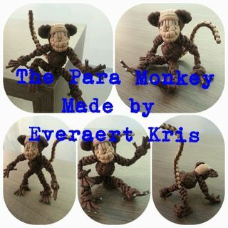 The paracord Monkey  Made by Everaert Kris