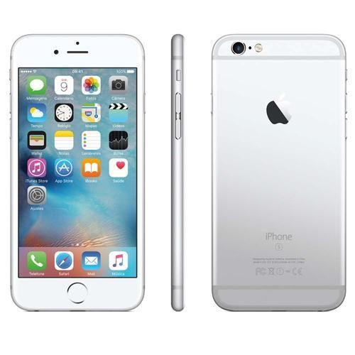 Ponto Frio iPhone 6s 128GB Prateado - R$ 4.049,55 em 1x Cartão P. Frio ou R$ 4.049,10 em 10x Sem Juros