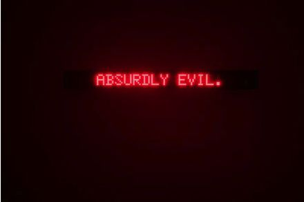 Jenny Holzer, Survival, 1989 Electronic LED sign: red diodes