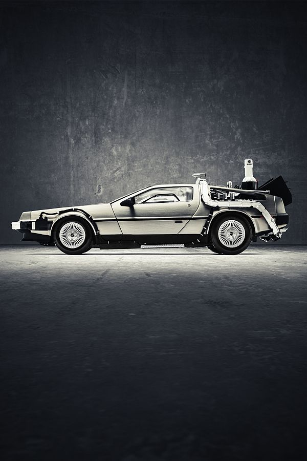 """""""Wait a minute, wait a minute, Doc, are you telling me that you built a  time machine - out of a DeLorean?"""""""