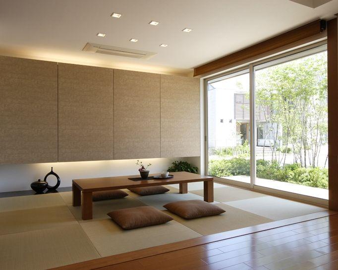 和モダン タタミコーナー 注文住宅のアキュラホーム