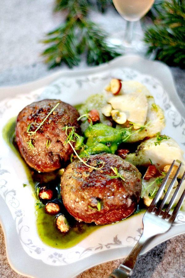 Boulettes de Nöel farcies au Foie gras façon «Arancini»