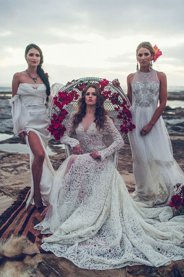 Beach Vibes by Lovestoned bridal featuring Cleo by Willow Hastings