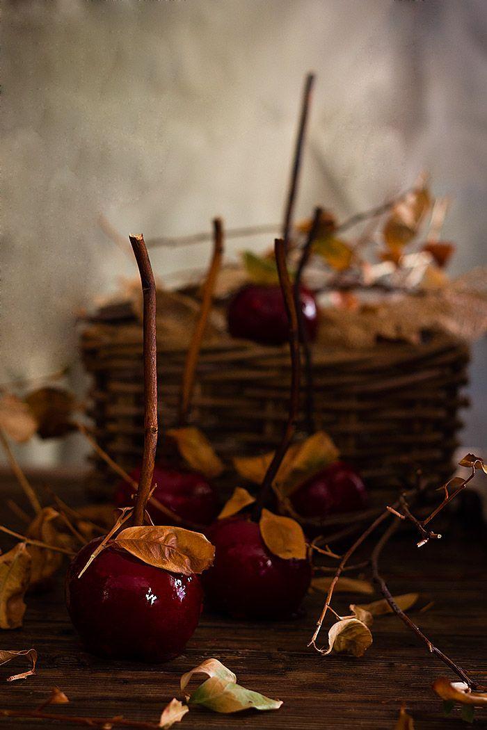 Yerbabuena en la cocina: Manzanas de caramelo