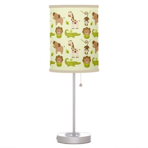 55 best images about jungle animal nursery clocks and wall for Jungle floor lamp for nursery