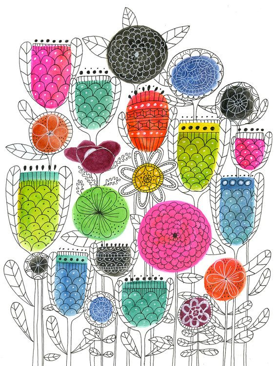 i'd be all shapes and sizes and colours and patterns #ifiwereaflower #SOSAfrica #childrensblog project