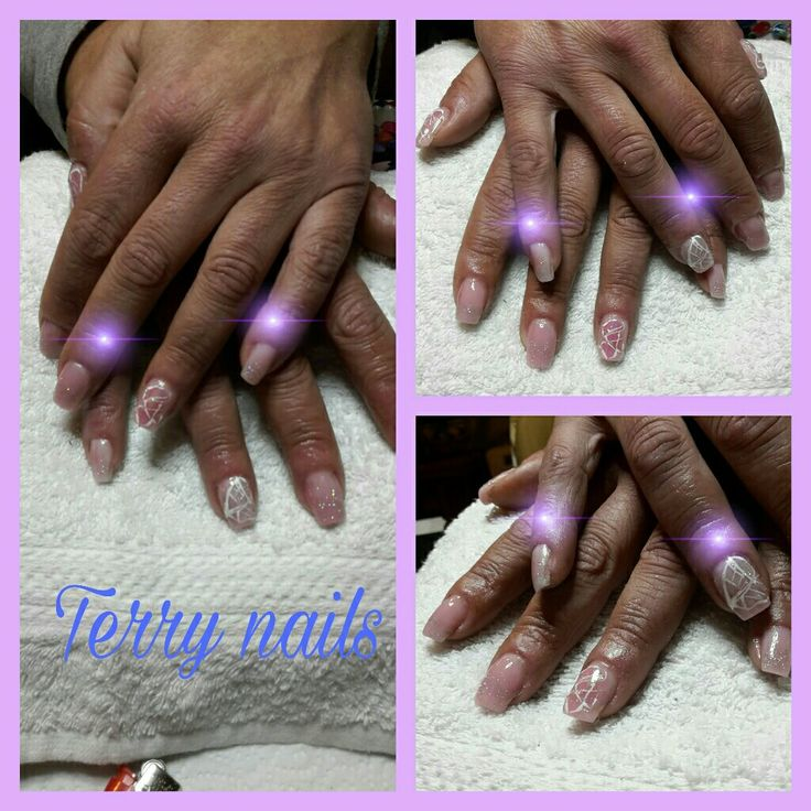 #FreeToEdit Terry nails #refil #gel#color#nude#baby #collage #love #photography