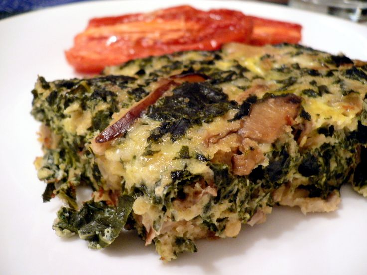 ... Swiss Chard Squares version - Hemphearts. Also consider polenta or